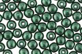 Czech Glass ColorTrends: Saturated Metallic Martini Olive Round 4mm