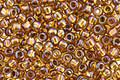 TOHO Transparent Rainbow Honeycomb Round 8/0 Seed Bead