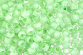 TOHO Crystal (with Neon Sea Foam Lining) Round 8/0 Seed Bead