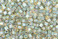 TOHO Rainbow Light Topaz (with Sea Foam Lining) Cube 1.5mm Seed Bead
