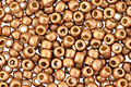 TOHO Permanent Galvanized (Matte) Golden Fleece Round 8/0 Seed Bead