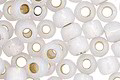 TOHO Permanent Translucent Cloud (with Silver Lining) Round 6/0 Seed Bead