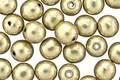 Czech Glass ColorTrends: Sueded Gold Cloud Dream Round 6mm