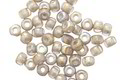 Czech Glass Matte Smoke AB Trica Beads 3x4mm