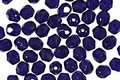 Czech Fire Polished Glass Cobalt Round 4mm