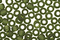 TOHO Transparent Frosted Olivine Round 8/0 Seed Bead