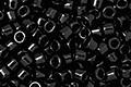 TOHO Aiko Opaque Jet Precision Cylinder 11/0 Seed Bead