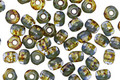 Czech Glass Rocky Shore Trica Beads 2.5x4mm