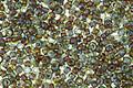 TOHO Transparent Aquamarine Picasso Hybrid Round 11/0 Seed Bead