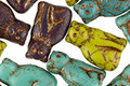Czech Glass Bronzed Vintage Meow Mix Cat 15x9mm