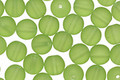 Czech Glass Matte Olivine Round 6mm