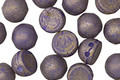 CzechMates Glass Pacifica Elderberry 2-Hole Cabochon 7mm