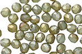 Czech Glass Matte Bronzed Sea Salt Fire Polished Round 4mm