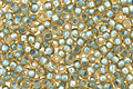 TOHO Rainbow Light Topaz (with Sea Foam Lining) Round 15/0 Seed Bead
