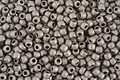 TOHO Metallic Frosted Antique Silver Round 11/0 Seed Bead