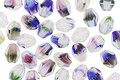 Czech Glass Wildflowers Pinch Bead 5x4mm