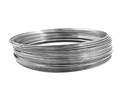 Remembrance Stainless Steel Memory Wire Extra Large Bright Bracelet 1 oz.