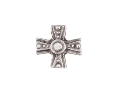 Greek Pewter Rosary Center Celtic Cross 15mm