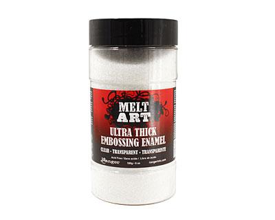 Melt Art Clear Ultra thick Embossing Enamel 8 oz.