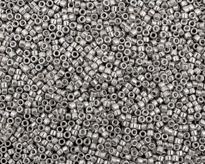 TOHO Metallic Silver Silver Treasure #1 Seed Bead