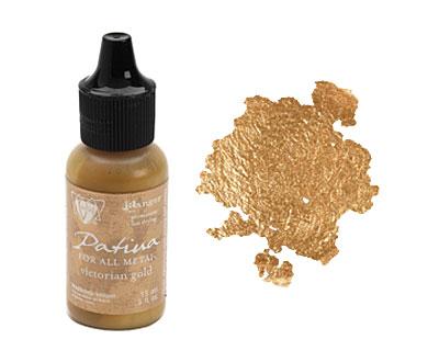 Vintaj Victorian Gold Patina 15ml