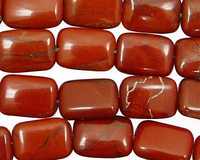 Red Jasper Thin Pillow 14x10mm