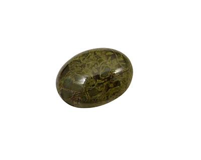 African Green Jasper Oval Cabochon 13x18mm
