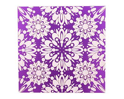 Lillypilly Purple Kaleidoscope Anodized Aluminum Sheet 3
