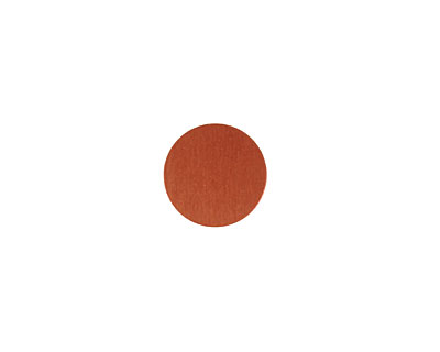Lillypilly Bronze Anodized Aluminum Disc 11mm, 24 gauge