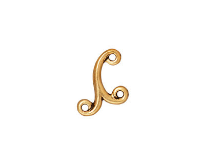 TierraCast Antique Gold (plated) Melody Link 12x11mm