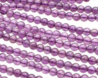 Amethyst Round 4mm