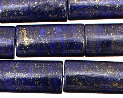 Afghanistan Lapis Thin Pillow 26x12mm