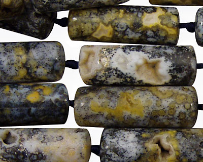 Magic Agate Tube 23-27x9-11mm
