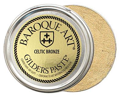 Celtic Bronze Baroque Art Gilders Paste 100ml