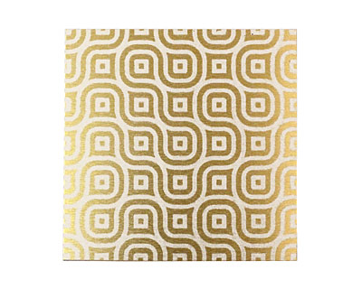 Lillypilly Gold Maze Anodized Aluminum Sheet 3