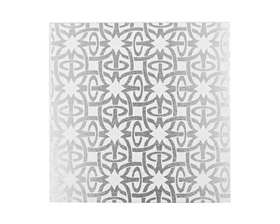 Lillypilly Silver Starburst Anodized Aluminum Sheet 3