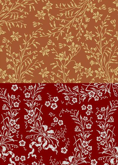 Nunn Design Copper & Brick Small Collage Sheet