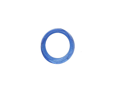 African Recycled Glass Sapphire Dogun Mini Ring 10-14mm