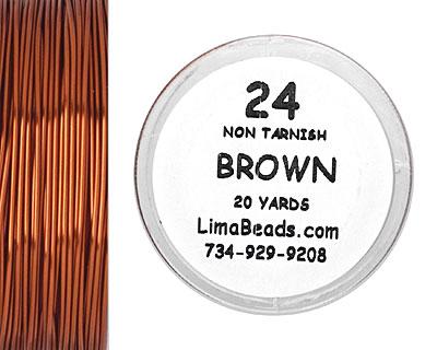 Parawire Brown 24 Gauge, 20 Yards