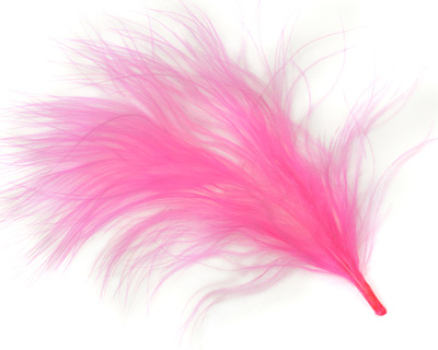 Flamingo Marabou Feather 100-152mm