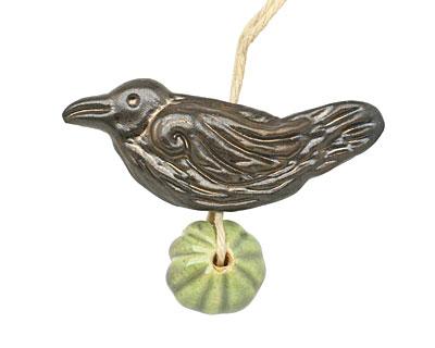 Gaea Ceramic Nevermore Raven & Lantern Bundle