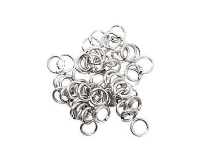 Artistic Wire Non-Tarnish Silver Chain Maille Jump Ring 4.37mm, 18 gauge