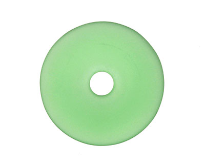Shamrock Recycled Glass Donut 40mm