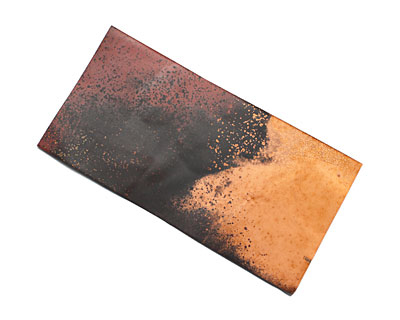 Lillypilly Rojo Y Negro Patina Copper Sheet 3