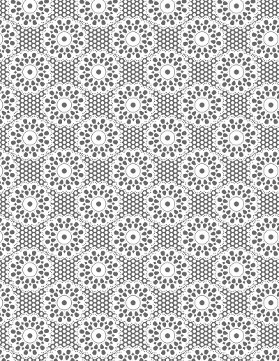 Sweet Lace Background Clear Stamp 4.25x5.5