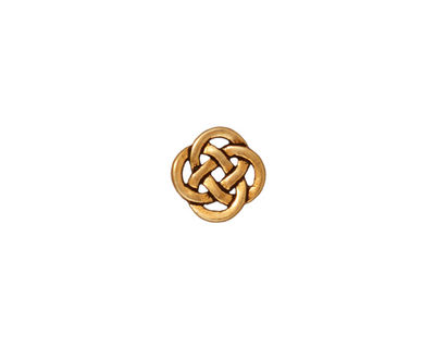 TierraCast Antique Gold (plated) Celtic Open Link 10mm