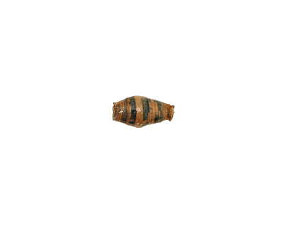 African Paper (beige, forest) Rice 9-10x6mm