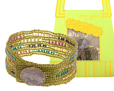Glass Garden Confetti Ndebele Bracelet Kit
