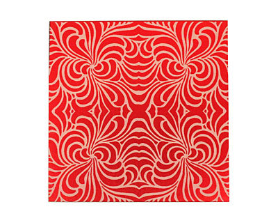 Lillypilly Red Morphed Anodized Aluminum Sheet 3
