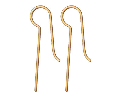 TierraCast Gold Filled Blank Earwire .93